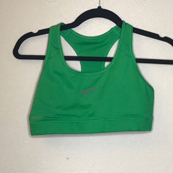 Green Nike Sports Bra